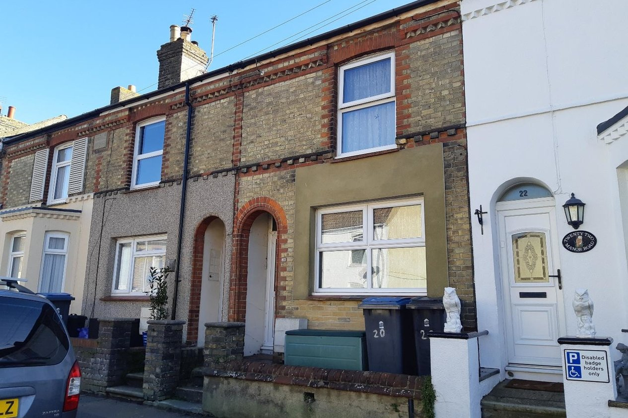 Properties Tenant in Situ Investment Opportunity in Manor Road Dover